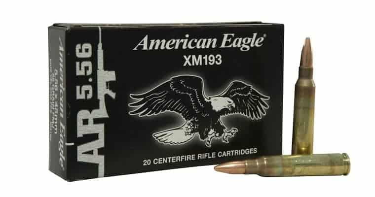Federal American Eagle XM193